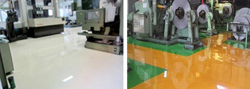 """塗り床の経年劣化などを保全し、""""改修・補修""""に特化した塗り床"""