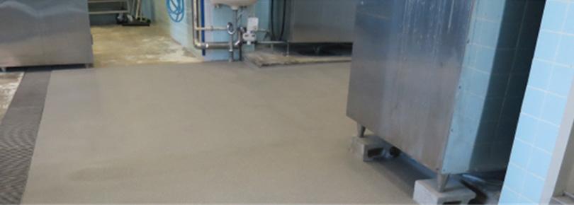 食品工場 塗り床の危険性とその対策