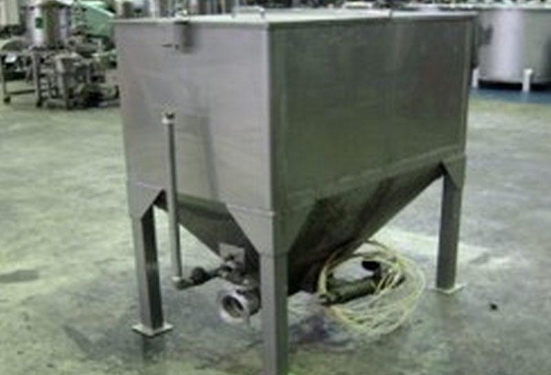 食品工場向けステンレスホッパー