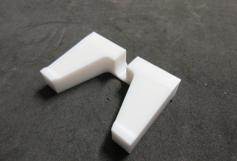 PTFE製の加工治具