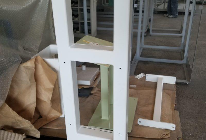 搬送装置操作パネル 固定支柱