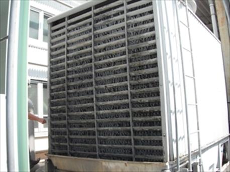 冷却塔の更新・洗浄メンテナンス