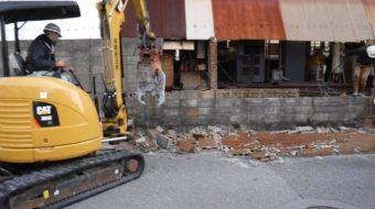 外塀の撤去・更新