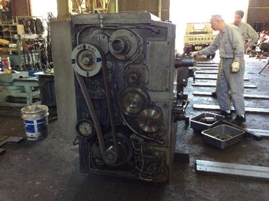 工作機械のオーバーホール・レトロフィット