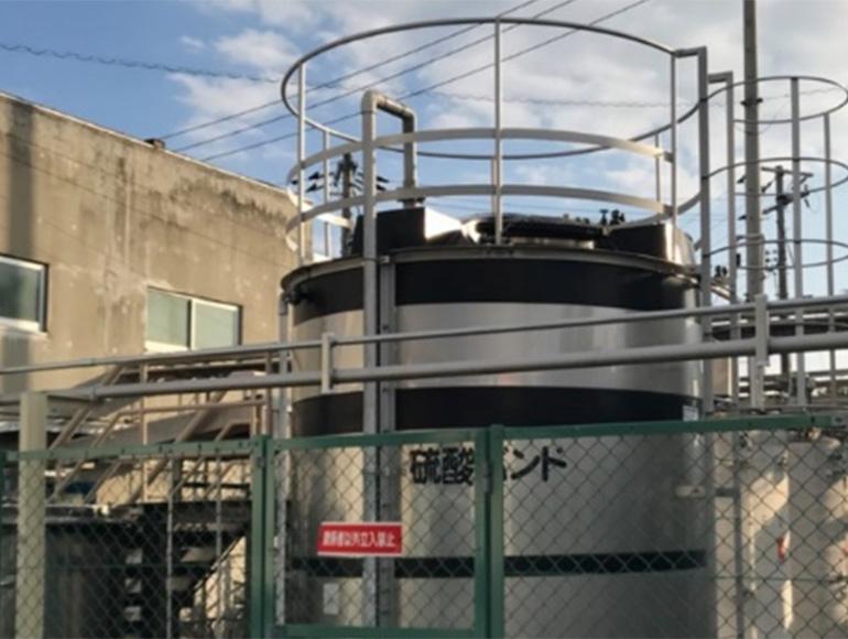 循環水配管・廃水配管工事