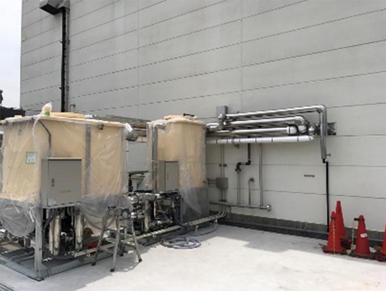 食品工場向け配管工事及び保温・保冷工事実績